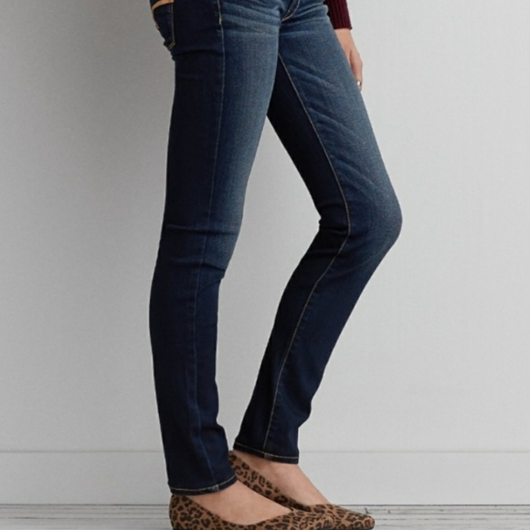 AEO Denim Skinny Super Stretch Low Rise Jeans